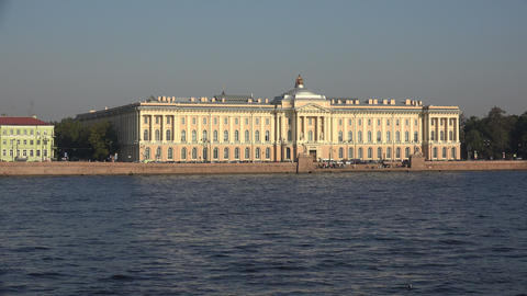 Saint-Petersburg Academy of art. 4K Footage