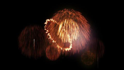 Fireworks Festival 2 D 4k Animation