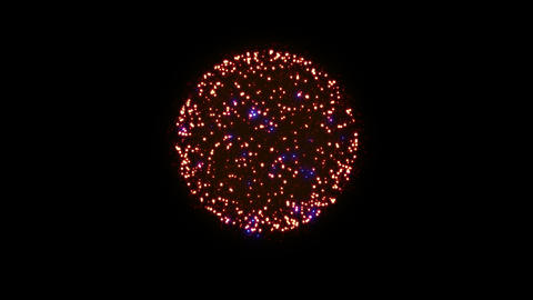 Fireworks Hanabi 2 Ab 4k Animation