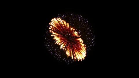 Fireworks Hanabi 2 Ae 4k Animation