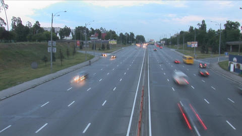 traffic 3 Stock Video Footage