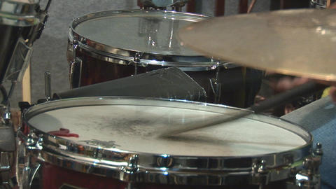 drums 3 Stock Video Footage