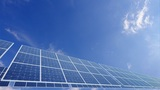 Solar Panel A2C HD stock footage