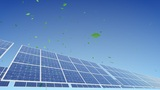 Solar Panel A2G1 HD stock footage
