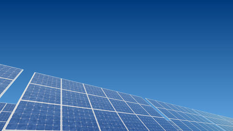 Solar Panel B2B HD Stock Video Footage