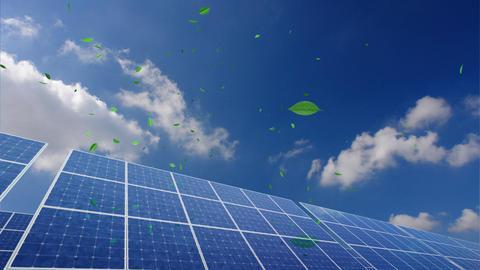 Solar Panel B2CG HD Stock Video Footage