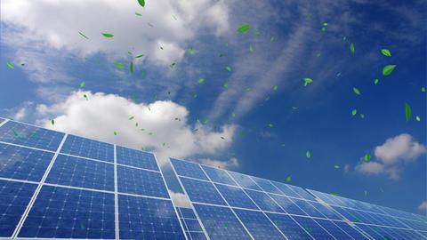 Solar Panel B2CG HD Animation
