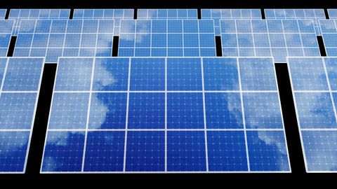 Solar Panel D2B HD Stock Video Footage