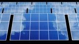 Solar Panel D2B HD stock footage