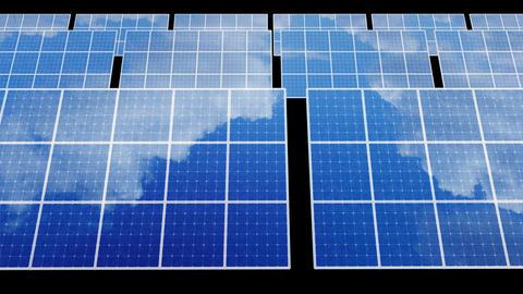 Solar Panel D2B HD Stock Video Footage