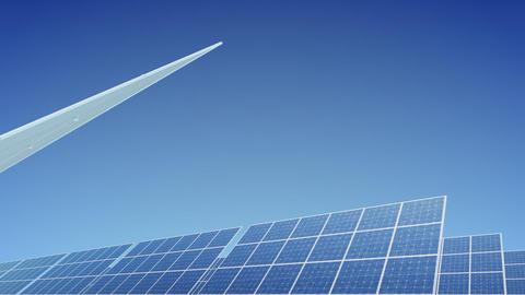 Solar Panel E2B HD Stock Video Footage