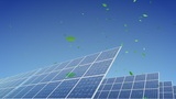 Solar Panel E2G HD stock footage