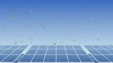 Solar Panel H2G HD stock footage