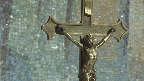 crucified Stock Video Footage