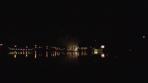Fireworks show a2 Stock Video Footage