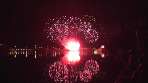 Fireworks show a2 Footage