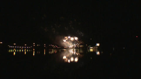 Fireworks show 3 Stock Video Footage