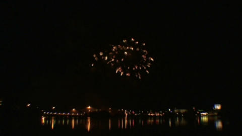 Fireworks show 2 Footage