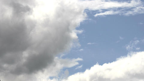 Clouds Timelapse 11 alps Stock Video Footage