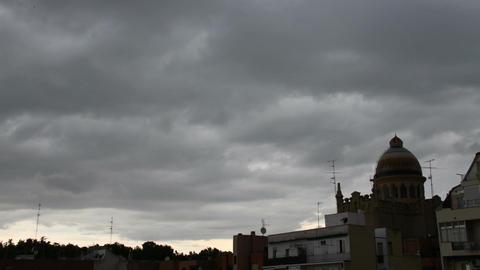 European Scene Clouds Timelapse 07 Stock Video Footage