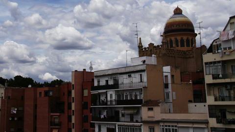 European Scene Clouds Timelapse 05 Stock Video Footage