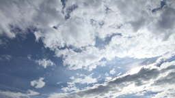 Fantastic Clouds Timelapse 01 godrays Stock Video Footage