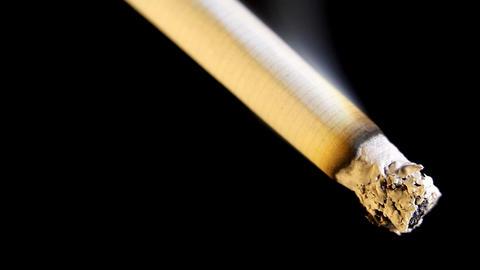 Cigarette Stock Video Footage