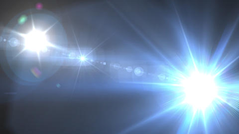 camra flash flare Stock Video Footage