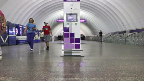 Staraya Derevnya, timelapse, St. Petersburg, Russi Footage