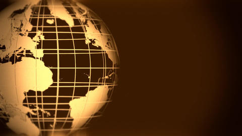 Globe Grid Animation