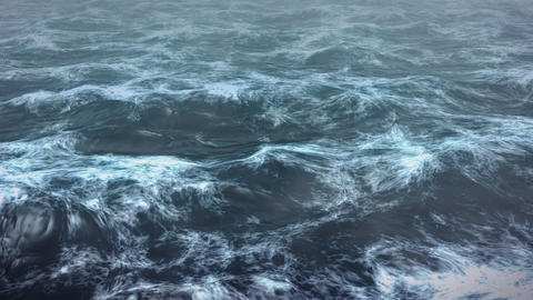 Day sea render Stock Video Footage