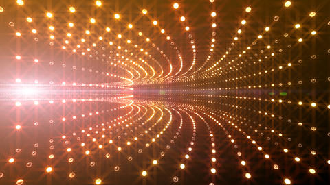 Disco Tunnel P1BA2 HD Stock Video Footage