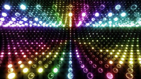 Disco Tunnel W1LB2 HD Stock Video Footage