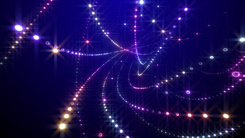 Disco Tunnel S1BC1 HD Stock Video Footage