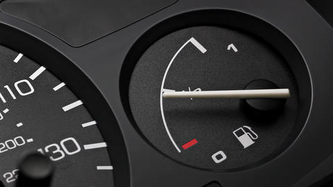 Fuel Gauge stock footage