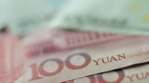 Chinese Yuan to Euros Footage