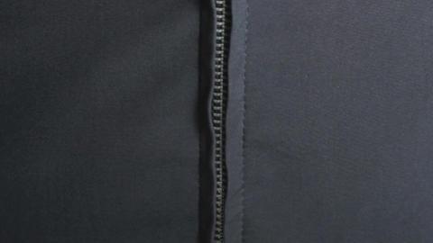 Zipper Green Screen Stock Video Footage