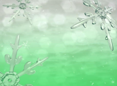 Xmas snow green Stock Video Footage