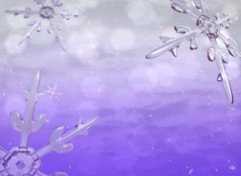 Xmas snow purple Stock Video Footage