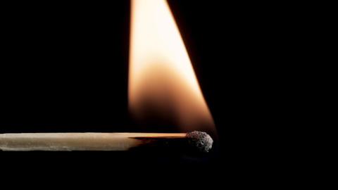 Match Igniting Stock Video Footage