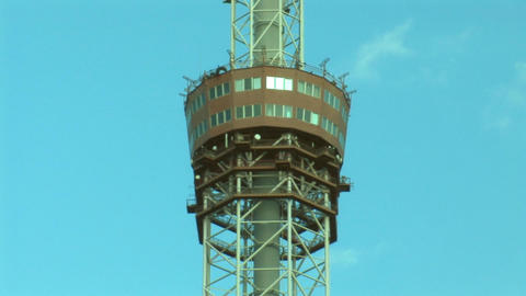 TV tower 3 Stock Video Footage