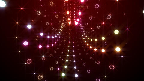 Disco Tunnel C2LB1 HD Stock Video Footage