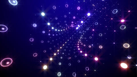 Disco Tunnel C2LC1 HD Stock Video Footage