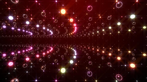 Disco Tunnel F2LA1 HD Stock Video Footage