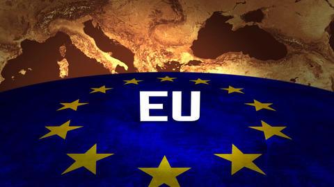 EU scene Stock Video Footage