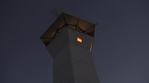 Lighthouse at Dusk Footage