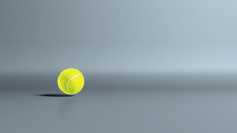 tennis ball bouncing fast Stock Video Footage