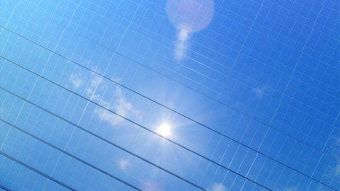 solar Panel Hee2 HD Stock Video Footage