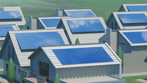 solar Panel Ja3 HD Stock Video Footage