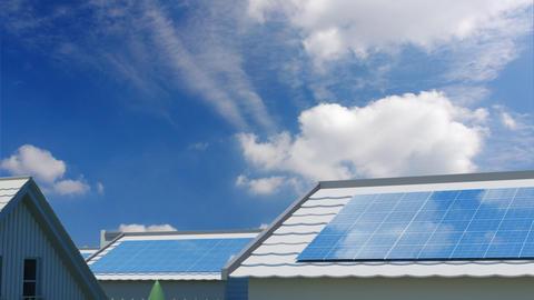 solar Panel Jee6 HD Stock Video Footage